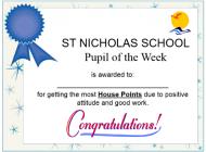 house award